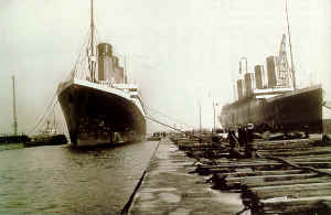 Titanic & Olympic identical ships