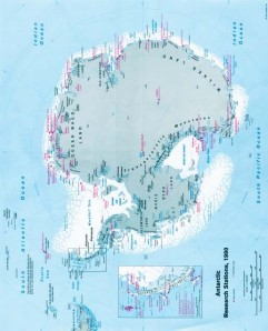Antarctica Map rotated, clearly resembles the HUMAN BRAIN