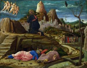 Mantegna's Gethsemane 1st painting.1